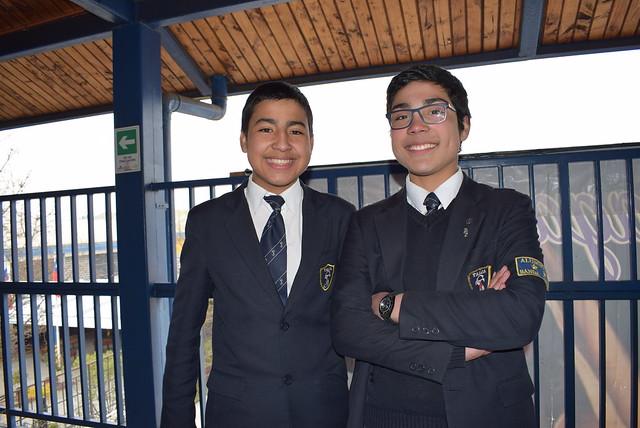 Alumnos 2°B HC primer lugar Feria Ciencia