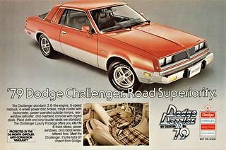 1979 Dodge Challenger (Canadian Ad)