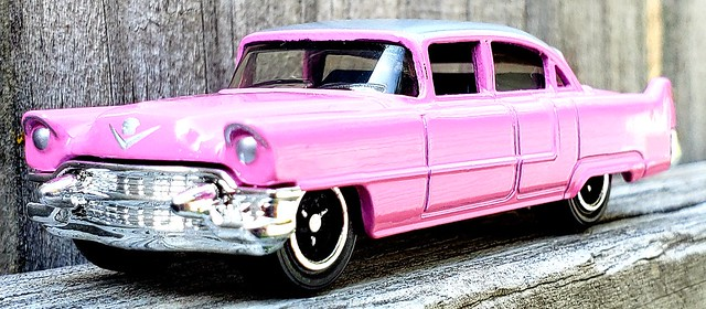 Pink Cadillac by Matchbox