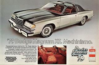 1979 Dodge Magnum XE (Canadian Ad)