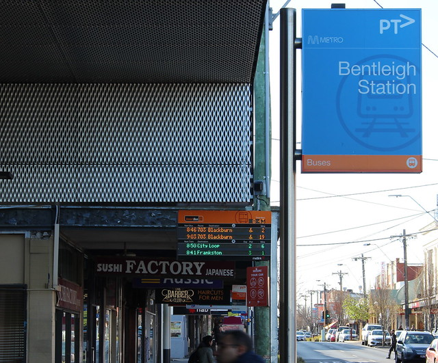 Bentleigh station Smartbus PID working again