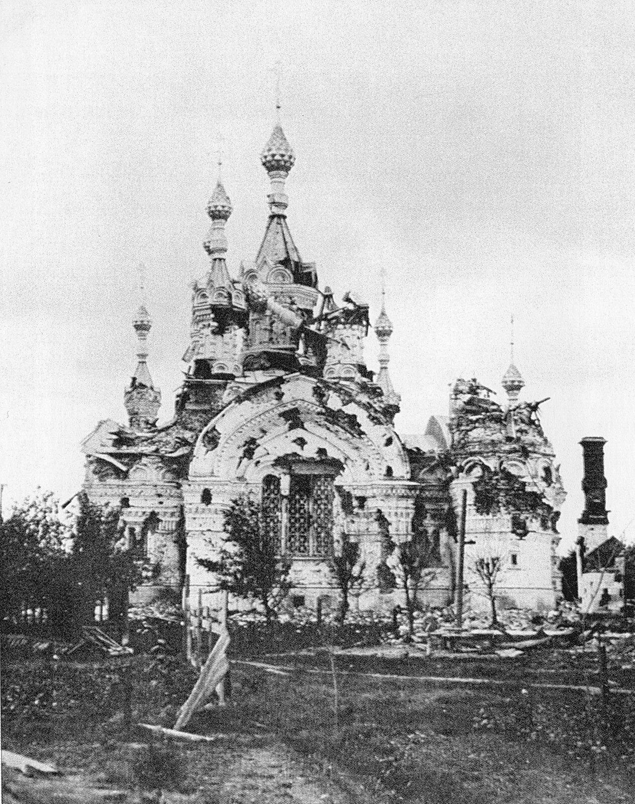 17. Церковь Покрова Богородицы после подавления восстания
