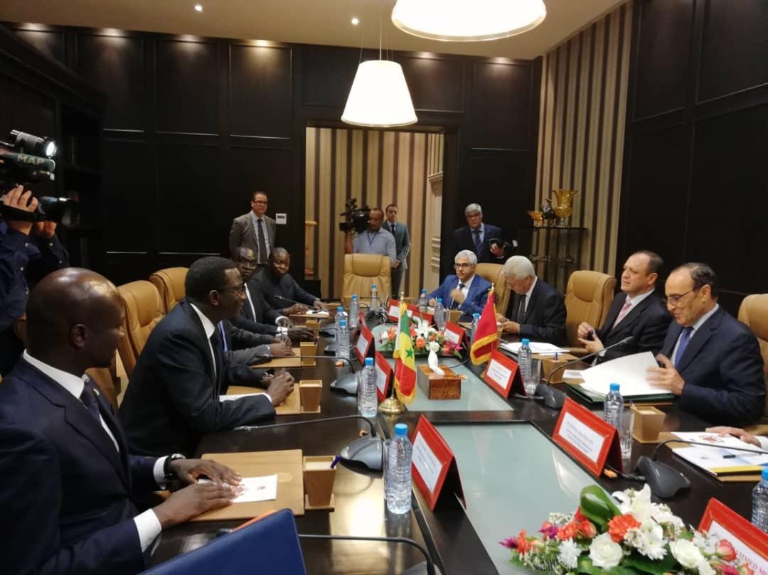 Amadou Ba a rencontré de grandes personnalités du Gouvernement marocain (1)