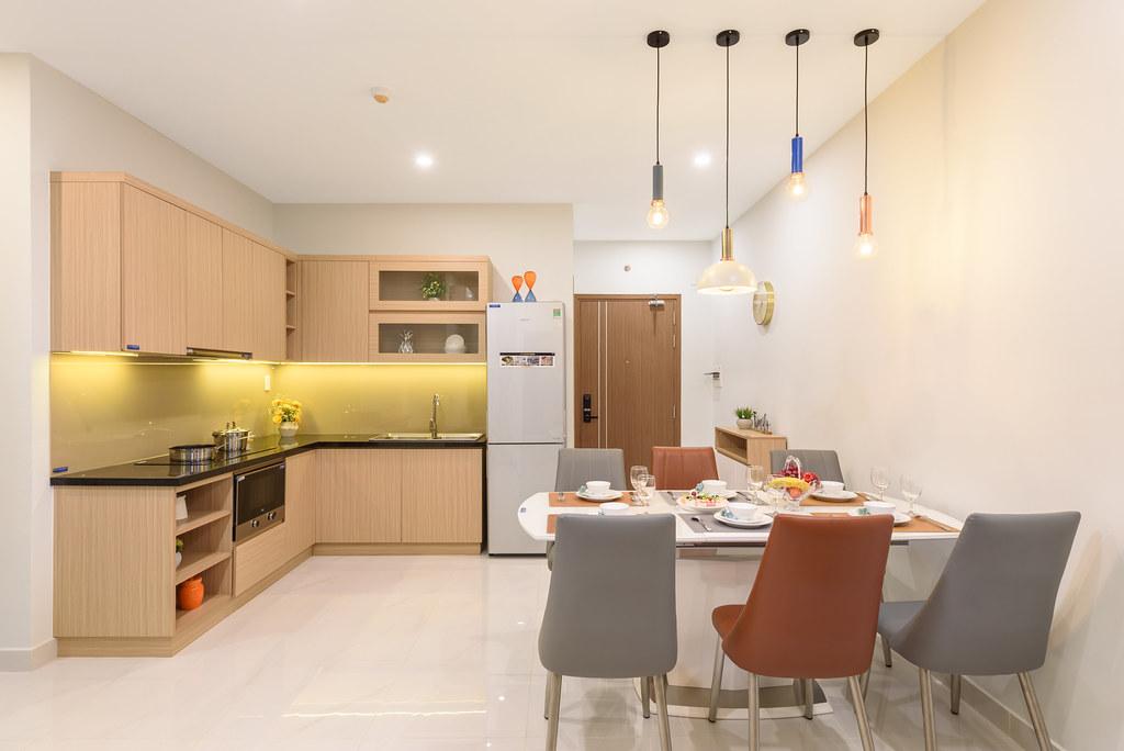 Thiết kế căn hộ mẫu Lovera Vista Khang Điền 9