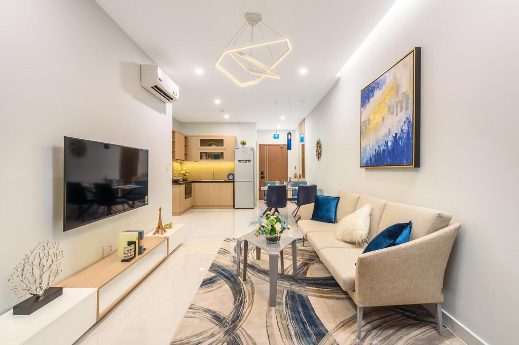 Thiết kế căn hộ mẫu Lovera Vista Khang Điền 3