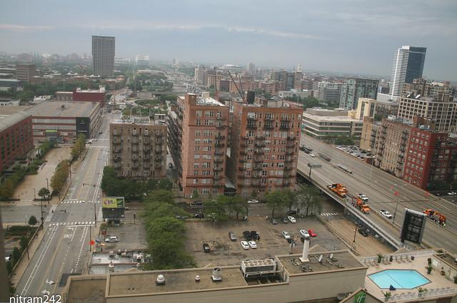 Chicago Post Office Eisenhower 290 View