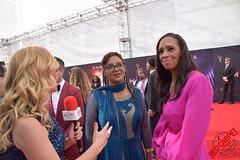 Devon Patterson & Michelle Cole at the 71st Annual Creative Arts Emmys - DSC_0391
