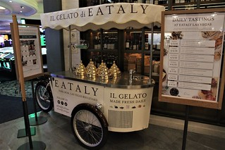 Near Midnight On The Strip -- EATALY Italian Food Court & Marketplace -- Park MGM/Monte Carlo Resort & Casino -- Las Vegas 2019