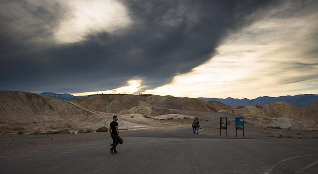Zabriskie Point. Death Valley