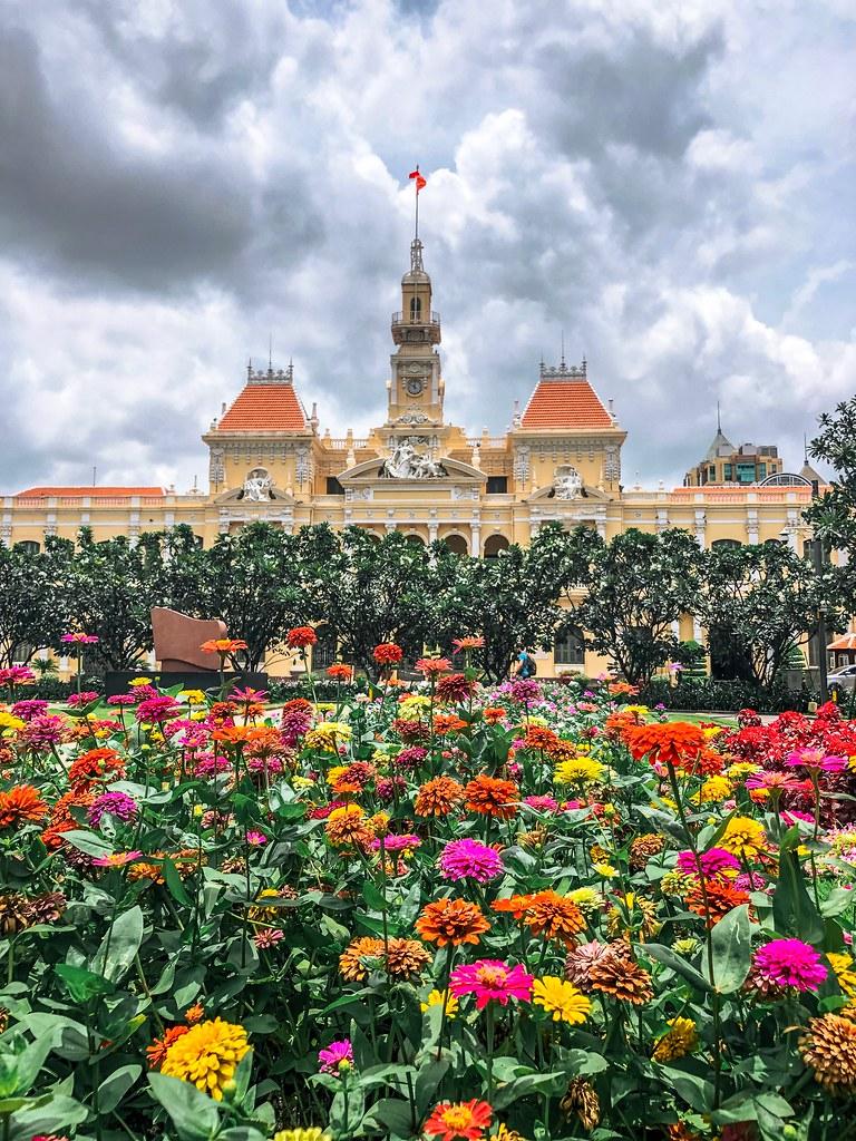Garden View of People's Committee
