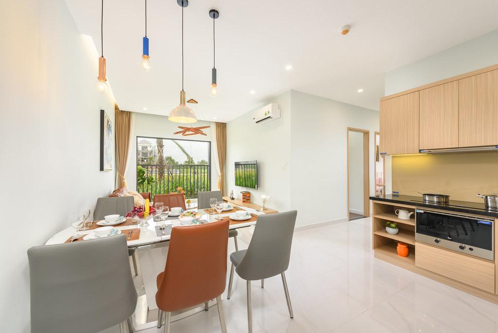 Thiết kế căn hộ mẫu Lovera Vista Khang Điền 7
