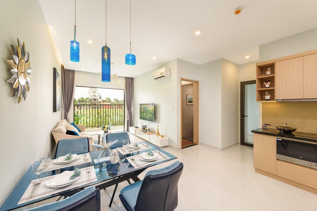 Thiết kế căn hộ mẫu Lovera Vista Khang Điền 1