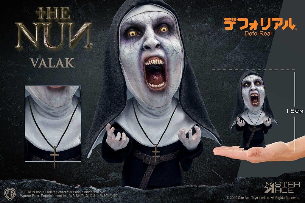 將鬼修女的恐怖扭曲成更加獵奇的視覺感受! Star Ace Toys Defo-Real 系列 多款出自《鬼修女》的「瓦拉克」(Valak)新作嚇人登場~