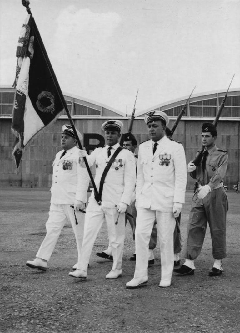 Octobre 1961 - Remise de la BE707 de Marrakech au Maroc 48747083211_24c6cc41da_o