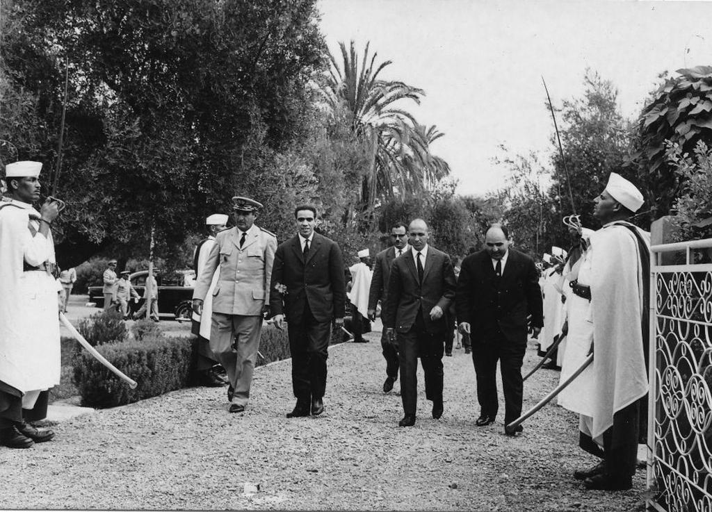 Octobre 1961 - Remise de la BE707 de Marrakech au Maroc 48747083291_df58be0959_o