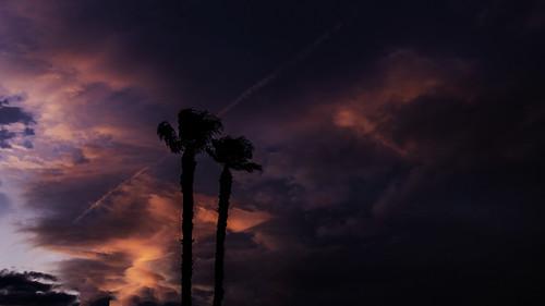 2019 america fujifilmxt30 fujinonlensxf23mmf2rwr lasvegas september usa desert sky sunset tree