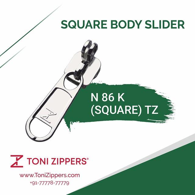 Toni Zippers | N 86 K (SQUARE) TZ