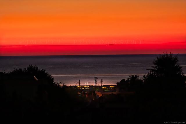 Lever de soleil à Antibes - Côte d'Azur France 3D0A3917