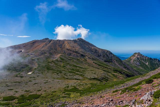 剣ヶ峰と継母岳