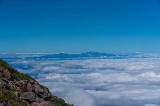 雲海と白山