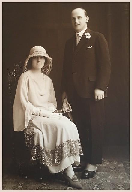 My Scottish grandparents on their wedding day
