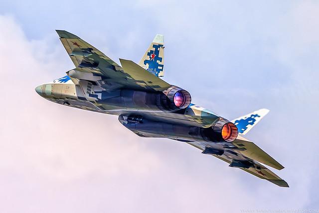 Su-57 054 (T-50-4, PAK-FA)