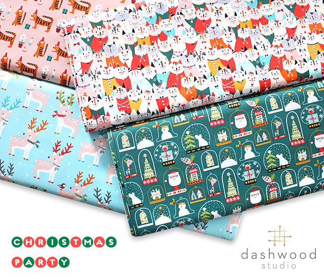 Dashwood Studio Christmas Party 1520 Party Cats