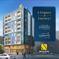 Featuring luxury apartments in 1 BHK, 2 BHK and studio apartment categories and conveniently located and built with your ultimate comfort in mind, Nucleus Yasmin has everything you need to make your experience in Salalah even more beautiful.  visit us at