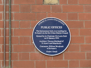 Open Plaque - St Anne's [Public Offices] 190826