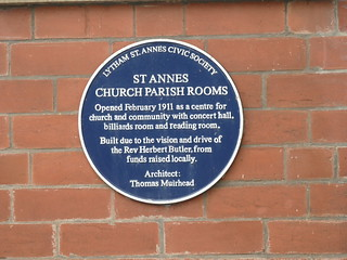 Open Plaque - St Anne's [Church Parish Rooms] 190826