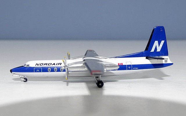 Nordair Fairchild FH-227 CF-NAJ