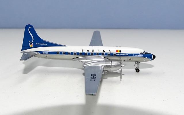 SABENA Convair CV-440 OO-SCT