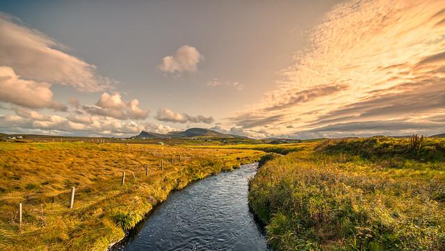 Evening skies of Skye.
