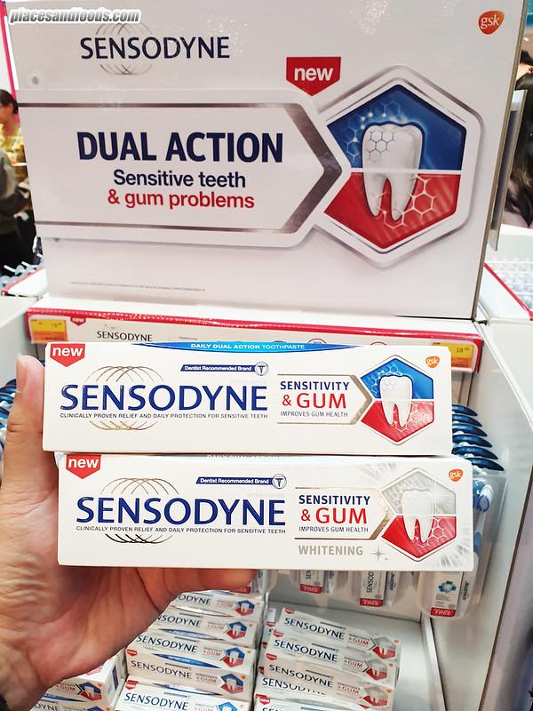sensodyne malaysia Sensitivity & Gum Toothpaste