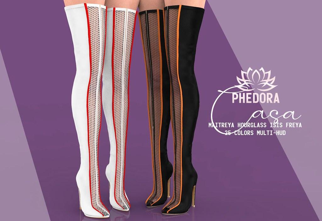 "Phedora. for Kustom9 - ""Casa"" boots ♥"