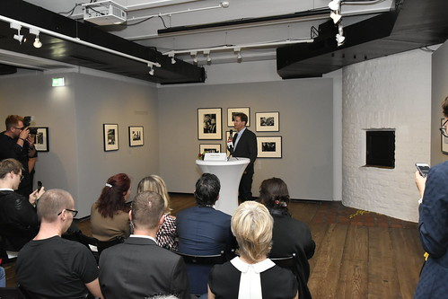 Ambassador Traina at Street Photography Exhibit Opening