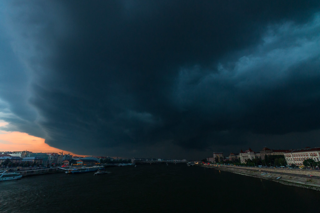 Storm over Budapest