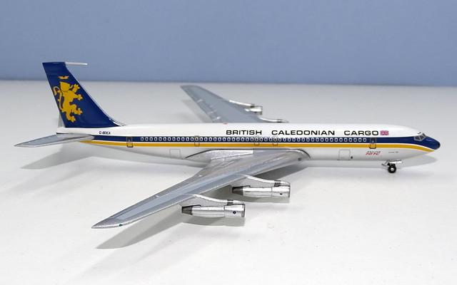 British Caledonian Cargo Boeing 707-320C G-BDEA