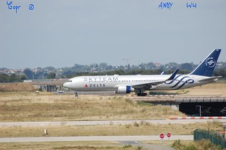 Boeing 767 Delta Airlines Skyteam Livery (08/10/2019)