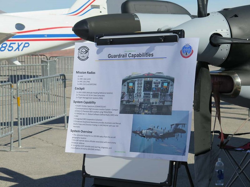 Beechcraft RC-12N Guardrail 3