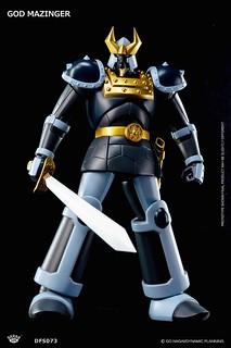來自古代姆帝國的巨大守護神!KING ARTS DFS073 太古巨魔神(ゴッドマジンガー )