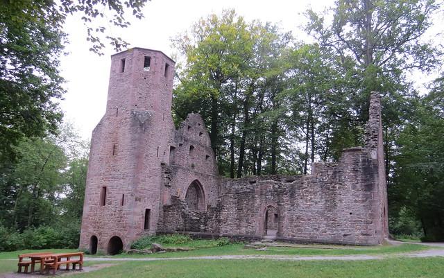 St. Barbara-Ruine (Karlsbad)-Langensteinbach