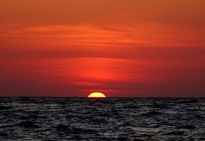 Sunset at erimitis beach, no filter !