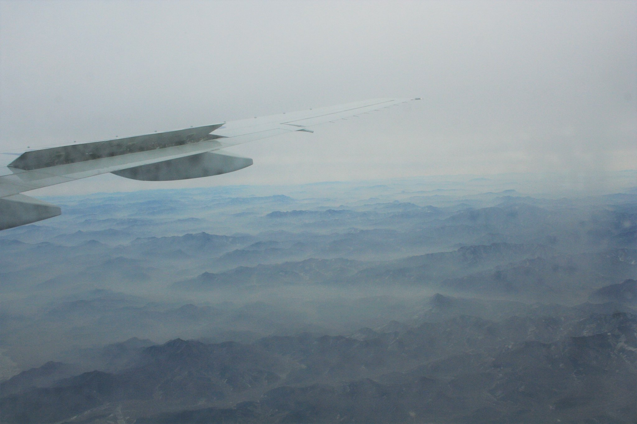 The misty ranges approaching Shenyang (3)