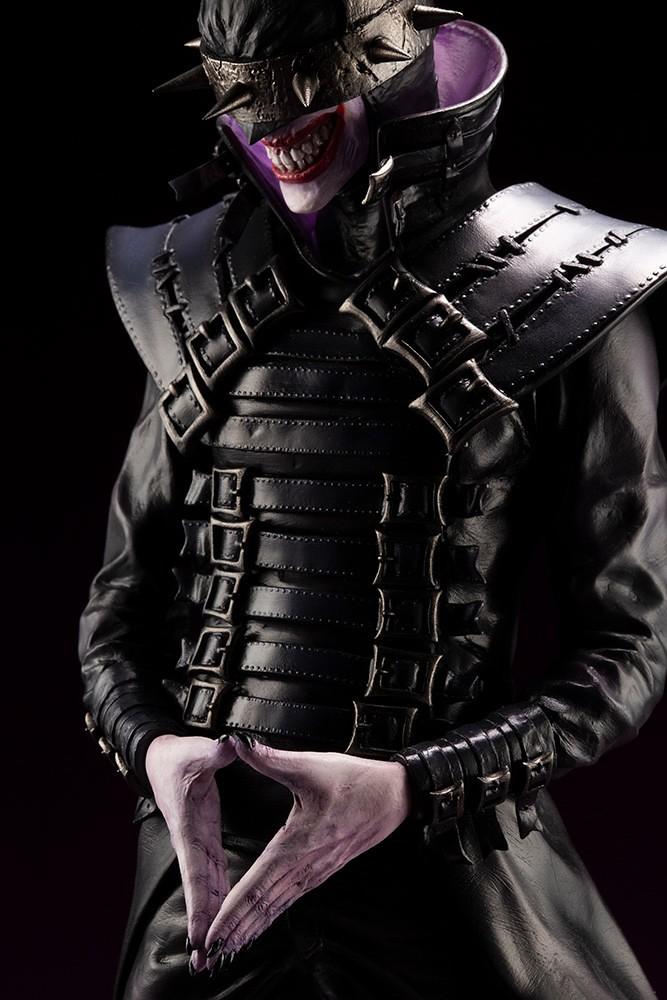壽屋 ARTFX 系列《Dark Nights: Metal》大笑蝙蝠俠 バットマンフーラフス エルスワールド 1/6 比例 PVC塗裝完成品