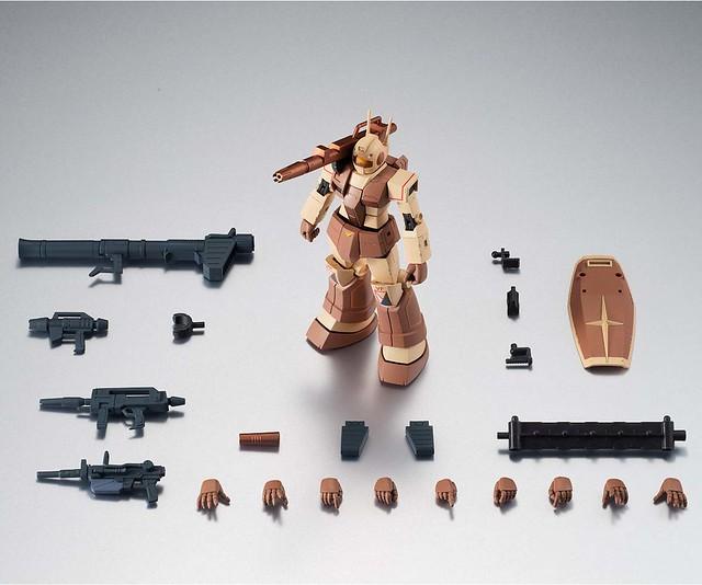 隱匿黃沙之中的重砲手!ROBOT魂《機動戰士鋼彈》RGC-80 吉姆加農 非洲戰線規格(ジム・キャノン アフリカ戦線仕様) ver. A.N.I.M.E.