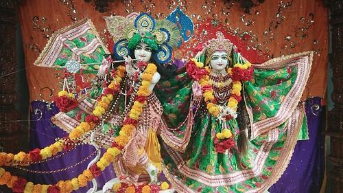 ISKCON Rajkot Deity Darshan 17 Sep 2019