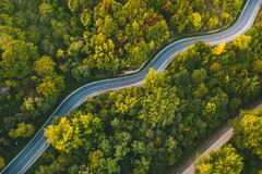 Winding road | Kaunas aerial #259/365