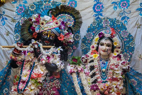 ISKCON Vrindavan Deity Darshan 17 Sep 2019