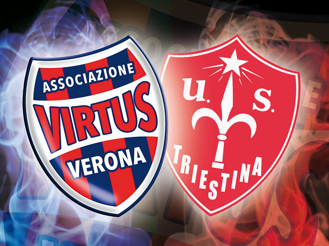 Virtus Verona - Triestina le interviste